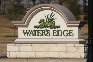 Custom Home Water's Edge