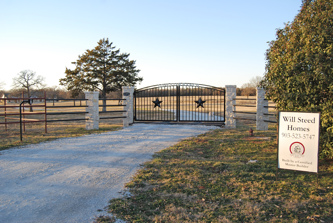 Texas ranch style custom home steed custom homes for Build a ranch home