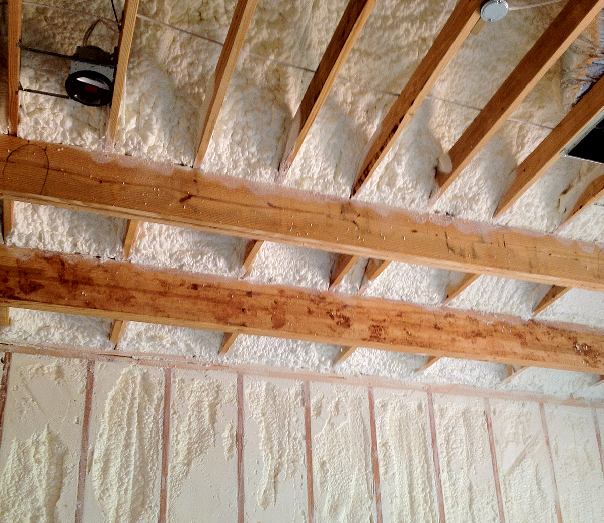 Spray Foam Insulation Vs Blown In Insulation 183 Will Steed