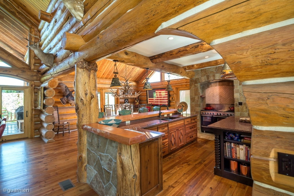 Luxury log and timber homes by jack steed · custom