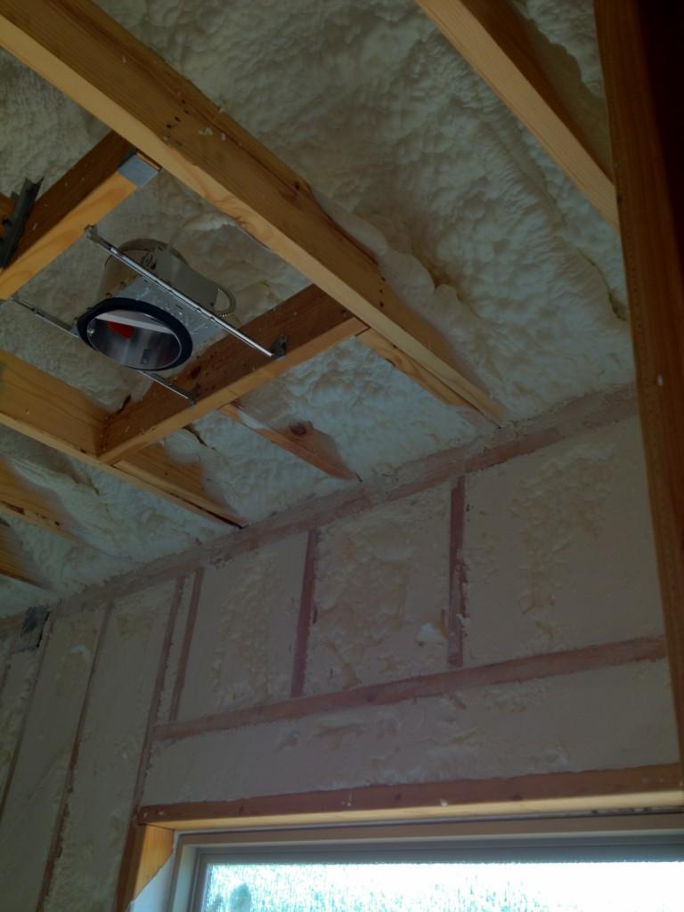 Spray foam insulation vs blown in insulation steed for Insulation cost comparison