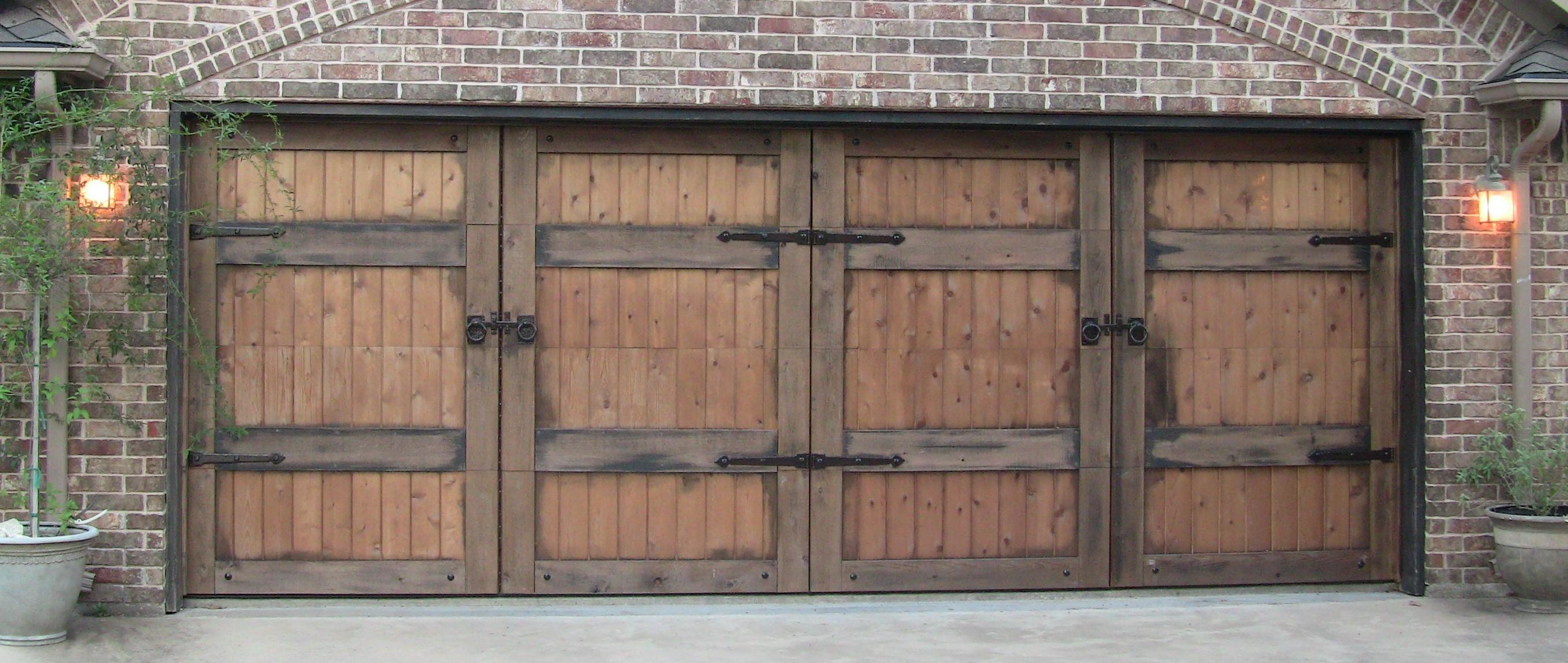 cedar clad overhead doors will steed homes