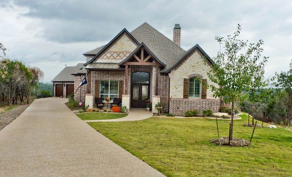 Granbury Texas Custom Home